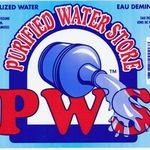 demineralized water label